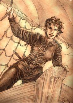 Asha Greyjoy by =Gold-Seven on deviantART