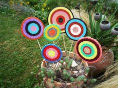 Hama beads flowers @Polly Harris