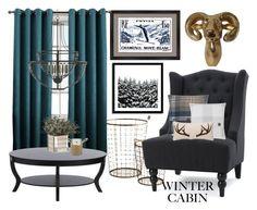 """Wanderlust Winter"" by amanda-renee-kay ❤ liked on Polyvore featuring interior, interiors, interior design, home, home decor, interior decorating, West Elm, Melissa Van Hise, UGG Australia and UGG"