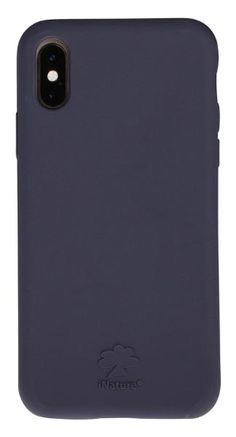 Custodia Cover iPhone XS iNature 100% Biodegradabile Ecologica Blue
