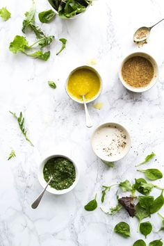 Four Gluten Free Dressings | The Mother Cooker