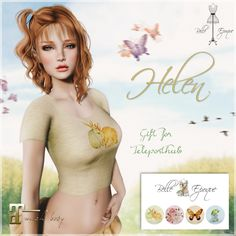 Helen Top Teleport Hub Group Gift by Belle Epoque