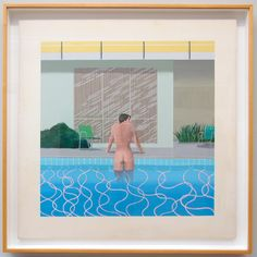Peter Getting Out of Nick's Pool by David Hockney 1966 - Walker Art Museum -Liverpool - Northwest England  (53)