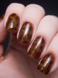 Tortoise-shell Nails!