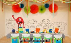 Monsters Inc. party