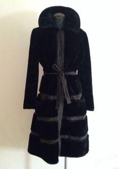 Items similar to Borgazia Faux Fur Coat on Etsy Fur Coat Fashion, Faux Fur, Etsy Shop, Trending Outfits, Shopping, Vintage, Vintage Comics