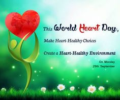 Unhealthy eating is a major risk factor for heart disease - but that doesn't mean changing your diet has to be boring. Fruit is a great source of heart-healthy vitamins and nutrients...what's more, it can be look and taste delicious too!  Celebrate WorldHeartDay on 29 September 2014 Monday by treating yourself to your 5-a-day, and look after your heart at the same time.  www.worldheartday2014.com www.worldheartday.org