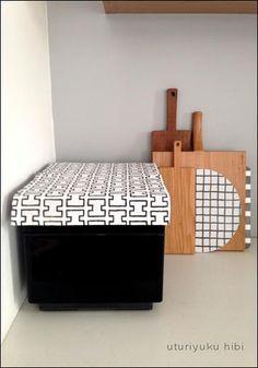 フィンレイソンの手ぬぐいで。 Bench, Storage, Furniture, Home Decor, Purse Storage, Decoration Home, Room Decor, Larger, Home Furnishings