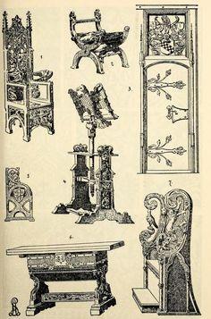 Gothic style furnishings