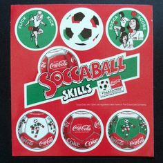 RUSSELL SOCCABALL Sticker Set, UK 1990 Coca-Cola YoYo Yo-Yo Soccer WORLD CUP | eBay