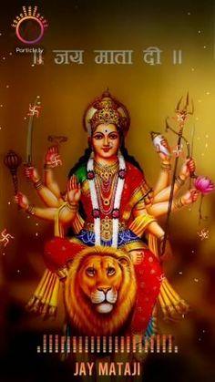 Maa Kali Images, Durga Images, Ganesh Images, Maa Durga Photo, Maa Durga Image, Good Morning Video Songs, Good Morning Gif, Navratri Puja, Happy Navratri