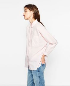 Image 5 of OVERSIZED SHIRT from Zara