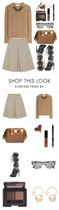 """Burberry"" by thestyleartisan ❤ liked on Polyvore featuring Finery London, Burberry, Ted Baker, NYX, Ivy Kirzhner, Prism, Witchery and Urban Decay"