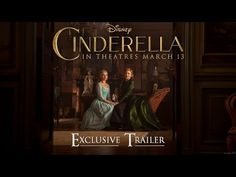 Disney's Cinderella Official US Trailer 2 - YouTube OH GOSH I HAVE TO SEE THIS