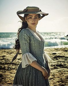 Ellise as Morwenna in the third series of BBC One's Poldark