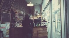 At a Swedish coffee stop #nyc #vsco #winter