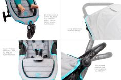 Our Favorite Stroller Pick: Honest Branded in Collaboration with Baby Jogger: City Mini GT Stroller | The Honest Company #HonestTeal #eco-friendly #toxic-free #BabyJogger #CityStrollers #all-terrain