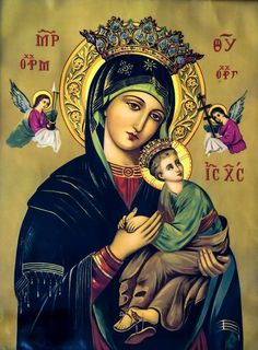 Religious Pictures, Religious Icons, Religious Art, Jesus And Mary Pictures, Mary And Jesus, Blessed Mother Mary, Blessed Virgin Mary, Holy Mary, Mary I
