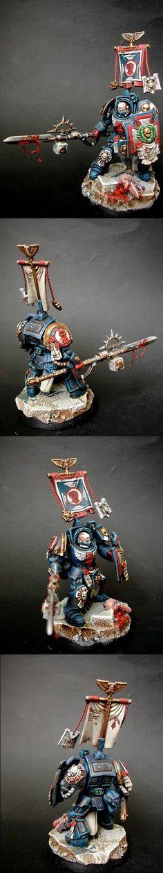 Crimson Fist, Terminator Armor