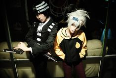 Soul & Death the Kid (Ikoya - WorldCosplay) | Soul Eater #cosplay #anime