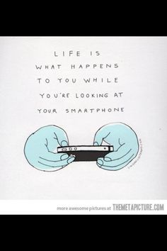 For all those phone addicts Amazing Quotes, Great Quotes, Me Quotes, Facebook Quotes, Facebook Humor, Annoyed Quotes, Phone Detox, Cell Phone Addiction, Technology Addiction