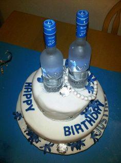 Grey Goose Martini Anyone cakepins.com