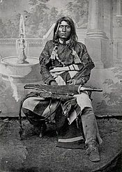 Captain Jack (~ 1837 - 1873), leader of the Native American Modoc tribe of California and Oregon during the Modoc War.