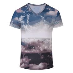 11.02$  Buy now - http://di8yd.justgood.pw/go.php?t=182056603 - Casual Printed Men's Short Sleeves T-Shirt 11.02$