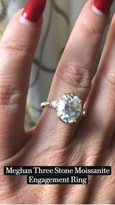 Moisonite Engagement Rings, Hexagon Engagement Ring, Three Stone Engagement Rings, Alternative Engagement Rings, Ring Bearer Outfit, Silver Wedding Rings, Cute Rings, Solitaire Rings, Diamond Rings