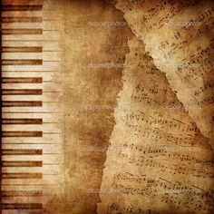 """Buy the royalty-free Stock image """"Old piano keyboard close up as a music background."""" online ✓ All image rights included ✓ High resolution picture for p. Paper Background Design, Collage Background, Textured Background, Flat Background, Music Artwork, Art Music, Decoupage, Vintage Music, Vintage Paper"""