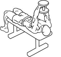 Dumbbell-bent-arm-pullover-1 - プルオーバー (ウエイトトレーニング) - Wikipedia