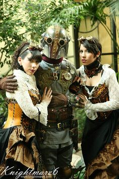 Steampunk Star Wars...Sweet..Love the costumes