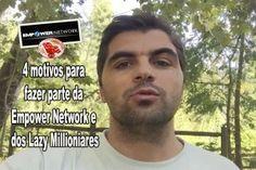 Porque será que faço parte deste projeto em vez de qualquer outro, já que existem milhares de oportunidades na internet? Hoje, vou passar-te 4 motivos para fazer parte da Empower Network e dos Lazy Millionaires. Sabe tudo no meu blog: http://oblog.carvalhohelder.com/4-motivos-para-fazer-parte-da-empower-network-e-dos-lazy-millionaires/