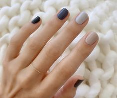 56 Beautiful Natural Square Nails Design For Short Nails - Page 11 of 19 - Different color nails - Gradient Nails, Nude Nails, Gel Nails, Stiletto Nails, Nail Color Trends, Spring Nail Trends, Spring Nails, Square Nail Designs, Short Nail Designs