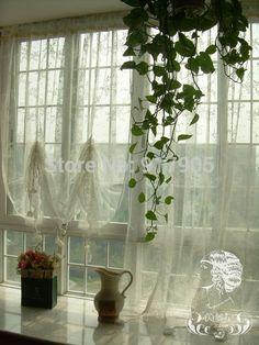 Rideaux pour salon on pinterest curtains living room curtains and salon - Rideaux anciens dentelle ...