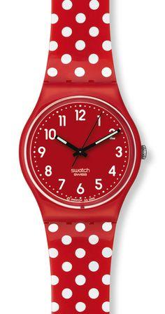 Los relojes pin-up de swatch