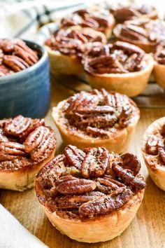 Mini Pecan Pies are