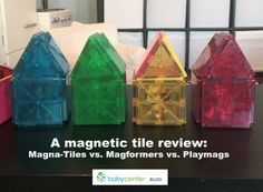 Magna-Tiles, Magformers, Picasso Tiles, Tegu blocks -- which one comes out on top?