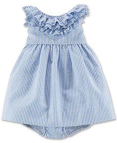 Ralph Lauren Baby Girls' Seersucker Dress