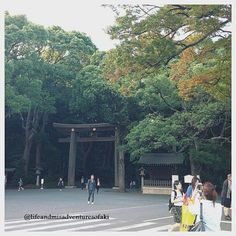 One of the famous and visited shrine in Tokyo! Aside from their vivid past, you can visit the place for FREE!
