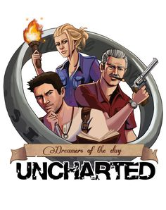 Dreamers of the day - Uncharted  http://sketchy-nic.deviantart.com/art/Dreamers-of-the-Day-475032346