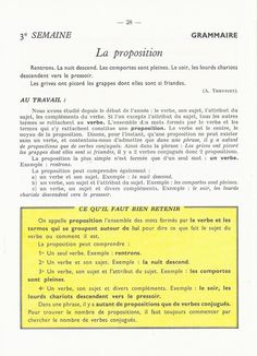 La Proposition, French Education, French Language, Science, Math, Images, Learn French, French Tips, Grammar Posters