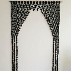 Macrame Door Arch by DreamcatcherDesigns1 on Etsy