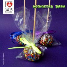 #ilovecakes #geometrydash #cakepops www.ilove-cakes.com