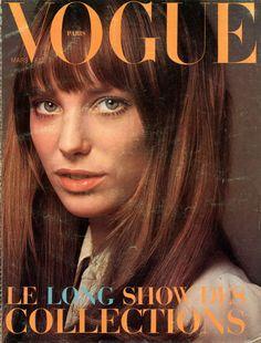 Jane Birkin, photo Jeanloup Sieff, Vogue Paris, March 1970*