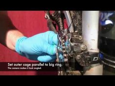 ▶ How to Position and Adjust Front Derailleur Shifting - YouTube