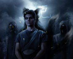 absolute darkness - quick photominip fanart of Nogitsune (Stiles as Yako) character from Teen Wolf