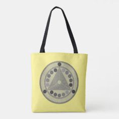 Tote bag ELEKTRA black on yellow Modern Tattoos, Power Girl, Sticker Shop, Time Travel, Custom Clothes, Strong Women, Have Fun, Tote Bag, Future