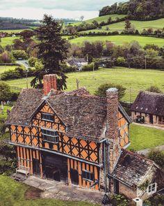 Stokesay Castle, Shropshire, England