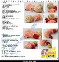 No automatic alt text available. Crochet Feather, Crochet Fish, Bead Crochet Rope, Doll Amigurumi Free Pattern, Crochet Amigurumi Free Patterns, Crochet Doll Pattern, Crochet Gifts, Crochet Toys, Crochet Keychain